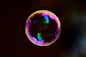 een bubble en een crash in 2021 of later